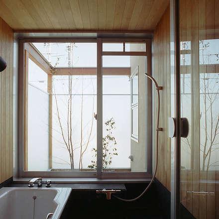 浴室: 竹内建築設計事務所が手掛けた浴室です。
