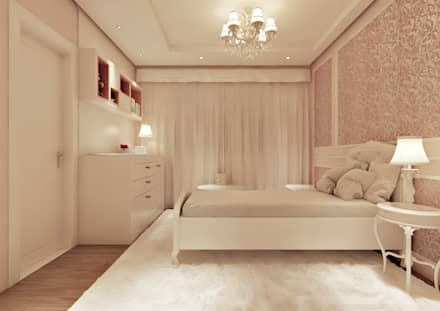classic Nursery/kid's room by Flávia Kloss Arquitetura de Interiores