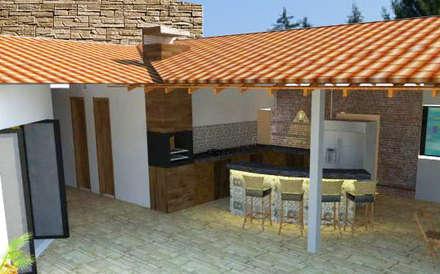 modern Garage/shed by gfc arquitetura e paisagismo