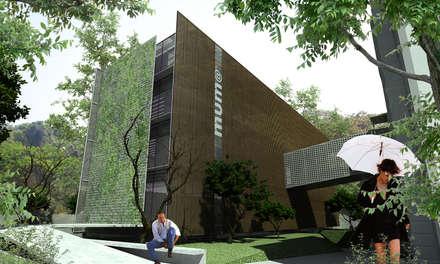 博物館 by Promenade Arquitetura