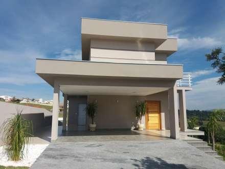 Residencia Sobrado RN : Casas modernas por Barbara Oriani Arquiteta