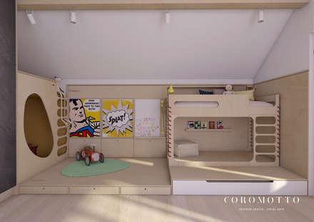 Quartos de Crianças: Quartos de criança ecléticos por Coromotto Interior Design