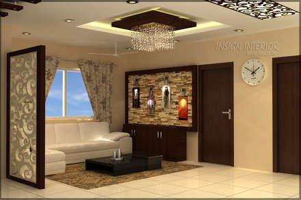 Mr. Praveen. : modern Living room by Insign
