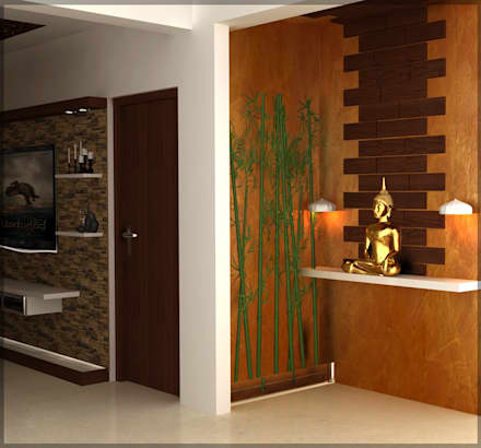Mr. Praveen. :  Corridor & hallway by Insign