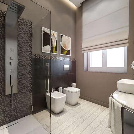 Bagno moderno idee ispirazioni homify for Idee per il bagno
