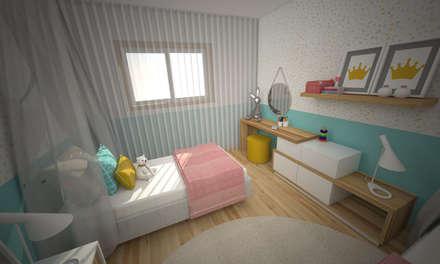 modern Nursery/kid's room by Areabranca