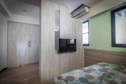 scandinavian Bedroom by 采居空間設計/系統傢俱