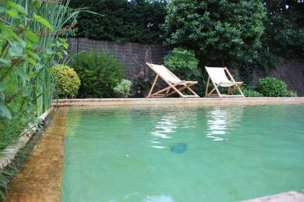 PISCINAS NATURALES: Piscinas de estilo tropical de jardinista