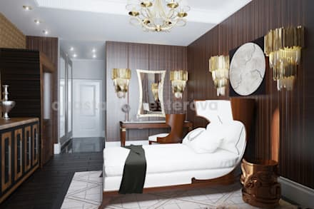 Одноместный номер: Гостиницы в . Автор – Дизайн-студия Анастасии Нестеровой