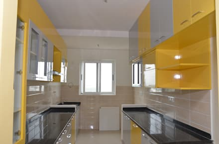 Parallel Modular Kitchens Online: asian Kitchen by Scale Inch Pvt. Ltd.