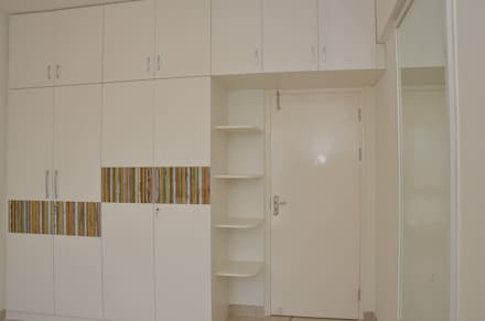 Wardrobe With Dresser Online In Bangalore: asian Bedroom by Scale Inch Pvt. Ltd.