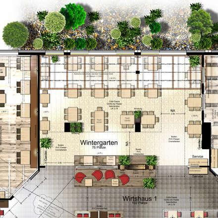 Gastronomie design architektur und bilder homify for Gastronomie architektur