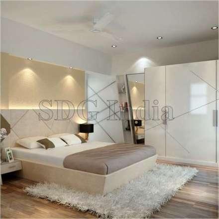 moderne Schlafzimmer von Space Design Group