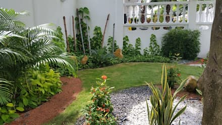 Garden design ideas pictures homify for Modelos de jardines interiores