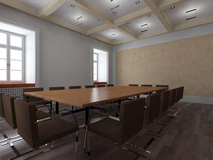 قاعة مؤتمرات تنفيذ Peter Stasek Architects - Corporate Architecture