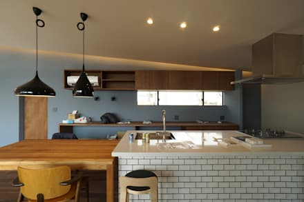scandinavian Kitchen by 近藤晃弘建築都市設計事務所