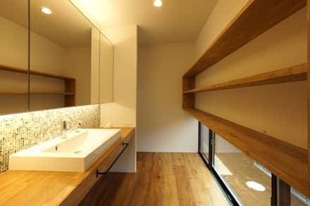 scandinavian Bathroom by 近藤晃弘建築都市設計事務所