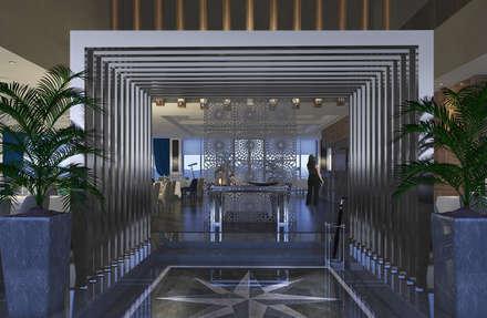 Develi Restaurant Viaport Marina:  Gastronomy by Key Invest Interior Designer Istanbul