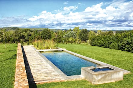 Jardines ideas dise os y decoraci n homify Piscina natural jardin