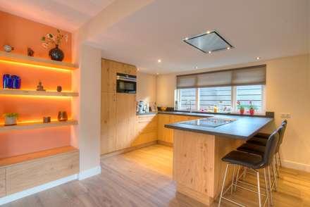 Foto 3 keuken: moderne Keuken door Anne-Carien Interieurarchitect