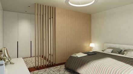 modern Dressing room by EsboçoSigma, Lda