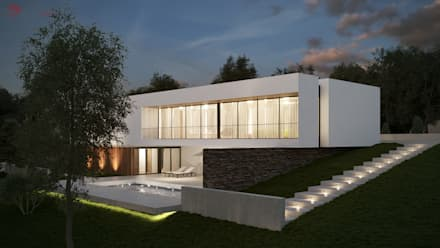 minimalistic Houses by EsboçoSigma, Lda