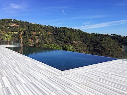 Infinity pool von Piscinas Godo