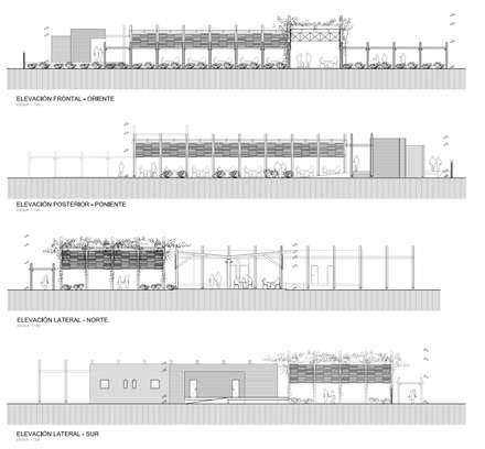 Salones de eventos de estilo  de SINTESIS arquitecto & asociados