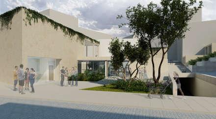 Equipamiento Hibrido en Loja: Escuelas de estilo  de PL Architecture