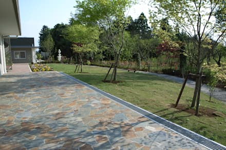 石頭庭院 by 株式会社小木野貴光アトリエ 級建築士事務所