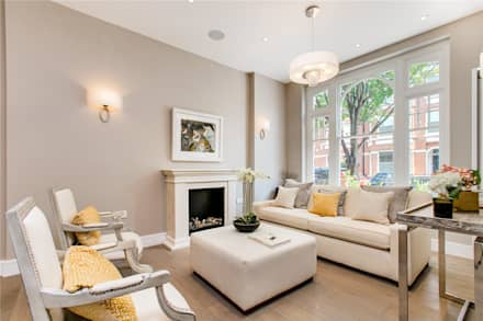 Perrymead Street, SW6: modern Living room by APT Renovation Ltd