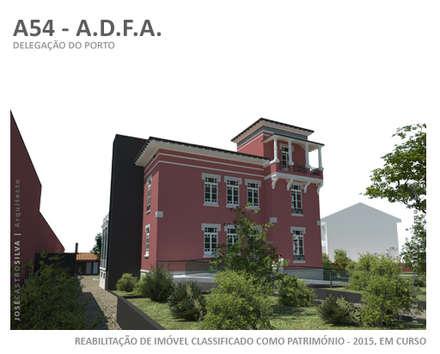 A54 - ADFA Porto: Escritórios e Espaços de trabalho  por JOSÉ CASTRO SILVA | Arquitectos