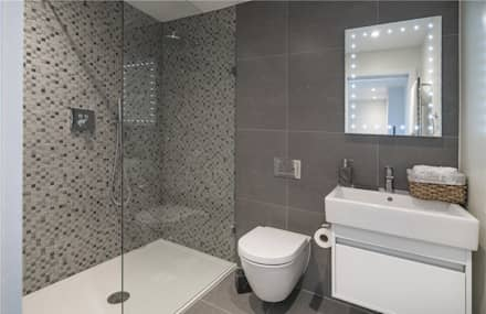 Wellington St Johns Wood NW1: modern Bathroom by APT Renovation Ltd