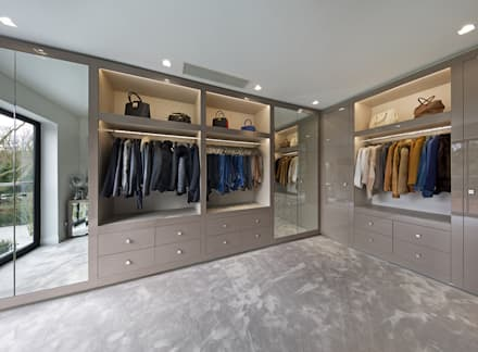 dressing room designs in the home. Mulberry  modern Dressing room by The Wood Works design ideas inspiration pictures homify