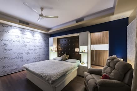 : modern Nursery/kid's room by Nandita Manwani