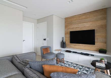 Sala de Estar: Salas de estar modernas por Danyela Corrêa Arquitetura