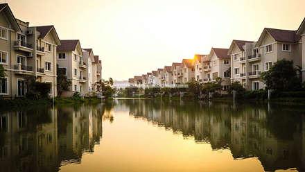 Vinhomes Riverside Hà Nội:  Khu Thương mại by ACT Architects (VN) Ltd.