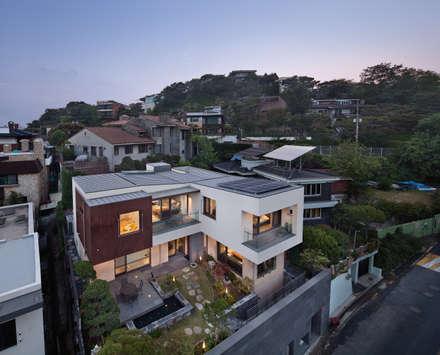 외관: 건축사사무소 모도건축의  주택