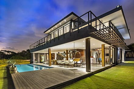 House umhlanga modern houses by ferguson architects