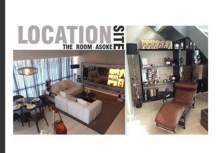 The Room 21 (STYLE LUXURY):  ห้องนั่งเล่น by Future Interior Design Co.,Ltd.