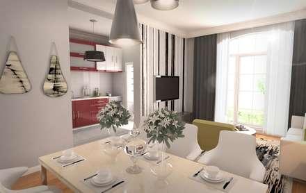 GEKADESIGN – BGC Yunuseli Toki / Bursa: modern tarz Yemek Odası