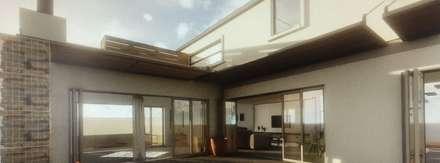 House de Jongh: industrial Houses by Modo