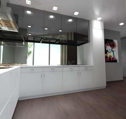 11x11: Cozinhas modernas por André Terleira - Arquitectura e Construção