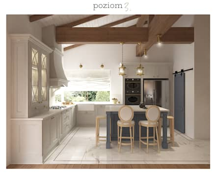 : classic Kitchen by poziom3.