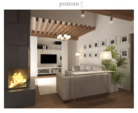 : classic Living room by poziom3.