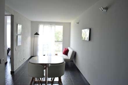 apartamento 603: Comedores de estilo minimalista por cadali