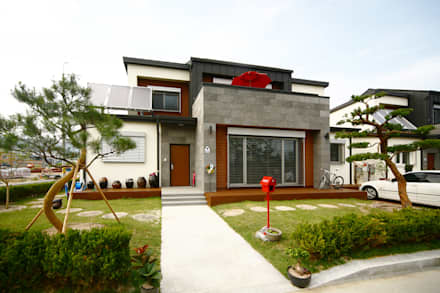 거창 패시브주택 단지: 로이하우스의  주택