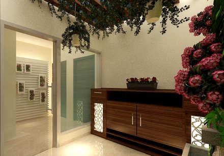 CLOSED BALCONY 1:  Corridor & hallway by MAD DESIGN