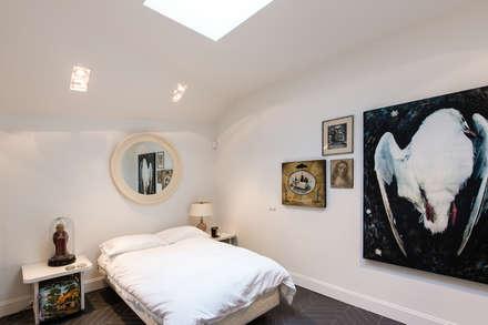 Villa Honingen II: moderne Slaapkamer door Marks - van Ham architectuur
