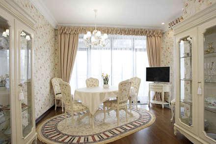 Дом в стиле прованс: Столовые комнаты в . Автор – дизайн-студия Пространство Дизайна